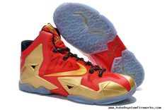 Nike LeBron 11 Championship Pack Red Metallic Gold Shoes are popular and fashionable. This is the top sale lebron 11 shoes on our store. Buy now! Kobe 9 Shoes, Kd Shoes, New Jordans Shoes, Nike Free Shoes, Nike Air Jordans, Air Jordan Shoes, Shoes Men, Converse Shoes, Nike Lebron