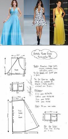 Платье с драпированным лифом и открытой спинкой (Шитье и крой) | Журнал Вдохновение Рукодельницы