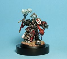 Grey Knights Grand Master Mordrak