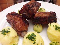 """Klasszikus sült oldalas """" borda """" / Szoky konyhája / - YouTube Hungarian Recipes, Pork Recipes, Beef, Cooking, Food, Main Courses, Youtube, Drink, Pork"""