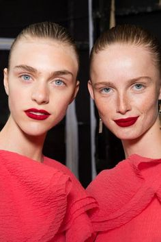 The best beauty, makeup, and hair looks from fashion week so far—Jason Wu