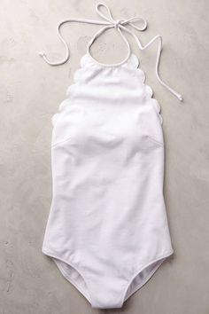 Marysia Scalloped One-Piece Swimsuit