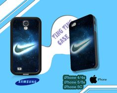 Nike Space Nebula Symbol Case for iPhone 4/4S iPhone by Fathonah, $15.00