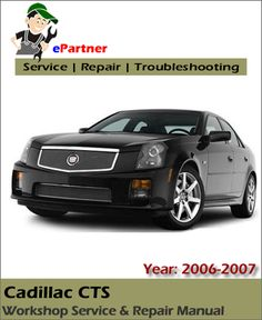 14 best cadillac service manual images on pinterest repair manuals rh pinterest com 2006 cadillac cts repair manual download 2004 CTS -V