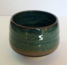 Annie Jennings - Small tea bowl with hare's fur glaze