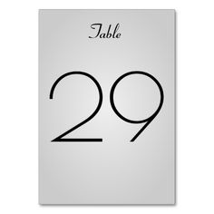 Shop Simple, Elegant Grey Gradient Background Table Number created by AponxDesigns. Grey Gradient Background, Table Names, Minimalist Wedding, Elegant, Simple, Numbers, Cards, Wedding Ideas, Nice