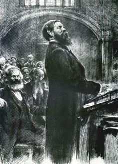 Friedrich Engels November 1820 – 5 August was a German philosopher, … Karl Marx, Soviet Art, Soviet Union, Beard Art, Back In The Ussr, Communist Propaganda, World Movies, Socialist Realism, Power To The People