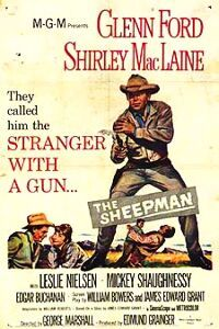 The Sheepman Starring: Glenn Ford, Shirley MacLaine, Leslie Nielsen, Pernell Roberts and Slim Pickens Western Film, Western Movies, Pernell Roberts, Old Movie Posters, Movie Poster Art, Old Movies, Vintage Movies, Glen Ford, Westerns