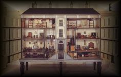 Ileana Ottini - many room boxes to view including Queen Mary's Dolls' House, Colleen Moore's Fairy Castle, the Thorne Rooms, the White House, etc. - wonderful site!!!