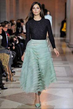 El romanticismo de Carolina Herrera, un imprescindible de la Semana de la Moda de Nueva York