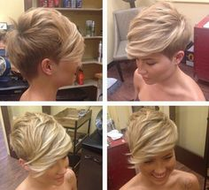 Super cute. Love the cut and color.. not brave enough to try though.