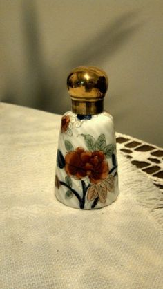 Antique Gorgeous Hand Painted Perfume Bottle | eBay