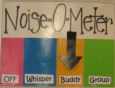 Noise-o-Meter! I have a few of these pinned, but it's just hard to decide which to use! Classroom Bulletin Boards, Classroom Behavior, Classroom Activities, Behaviour Management, Class Management, Classroom Management, Classroom Setting, Classroom Decor, Noise O Meter