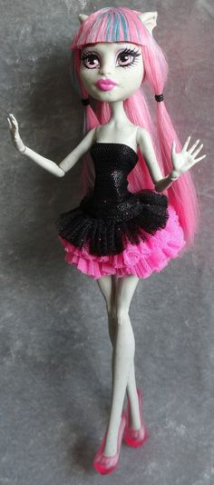 monster high doll dress