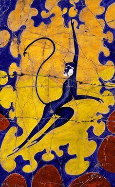 santorini mycenae art - Google Search