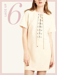 Pixie Market ivory dress, $84 (pixiemarket.com).