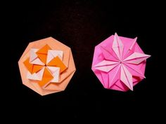 Origami Octagon Flower - Octagon envelope. Tarjeta compleja. Christmas ideas - YouTube