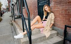 Pin for Later: Karlie Kloss Just Made This British Brand Totally All American