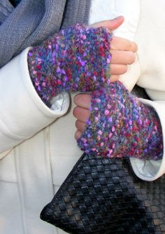 FREE SHIPPING Colorfull glovesknit gloves armwarmerswomen by seno, $32.00