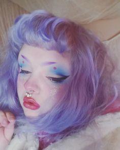 makeup looks beautiful Makeup Inspo, Makeup Art, Makeup Inspiration, Makeup Goals, Beauty Makeup, Hair Makeup, Kawaii Makeup, Cute Makeup, Clown Makeup