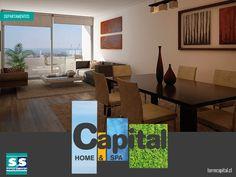 En Capital Home & Spa contarás amplios espacios para vivir cómodo y tranquilo. www.torrecapital.cl