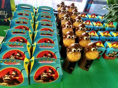 Donkey Kong Birthday Party Favors