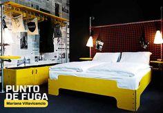Hotel Superbud, ganador del German Design Award 2014  A diferencia de otros hostales en Europa, el 'Superbud Hotel Hostel Lounge Schanze' cuenta con un baño propio en cada cuarto. La flexibilidad de su diseño permite adaptar las camas para alojar varios usuarios.