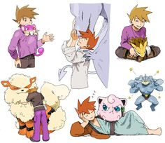 Blue 😍 Green Pokemon, Ash Pokemon, Pokemon Ships, Pokemon Eevee, Pokemon Comics, Pokemon Fan Art, Cute Pokemon, Pokemon Images, Pokemon Pictures