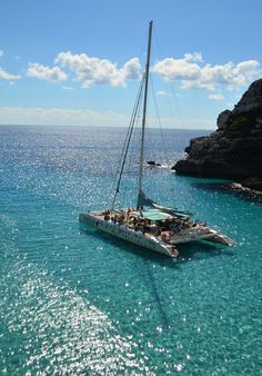 Les #DomTom comme vous ne les avais jamais vus !  #Majorque #catamaran #sea #sun #blue #summer #dreamy #holidays