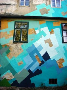 Awesomeness by Nuria Mora - mural idea for shop and shed