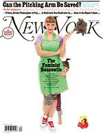 Interesting article on American 'feminists' who say they're having it all by choosing to stay at home. (New York Magazine)