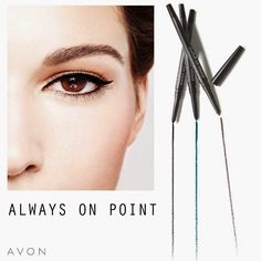 Remember: Be Always on Point!  Order your Always on Point Eyeliner here: www.order-here.co.uk  Or Become an AVON Representative here: www.become-a-rep.co.uk  #eyeliner