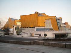 Hans Scharoun, Philharmonie, Berlin, 1956-1963