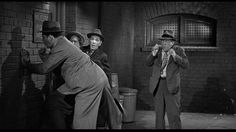 242. Sammy Stein (as Gorilla Watson), Larry Fine, Shemp Howard, Heinie Conklin (as Watson's manager) | Fling in the Ring (1955) | Three Stooges short directed by Jules White