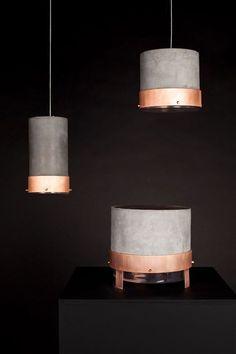 copper and concrete