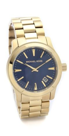 I love a chunky men's watch, like this one by Michael Kors