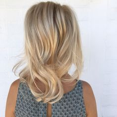 || Super Creamy Blondes + Styled using the Cloud Nine wand ||