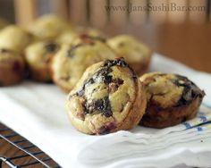 Raspberry Dark Chocolate Muffins#JansSushiBar