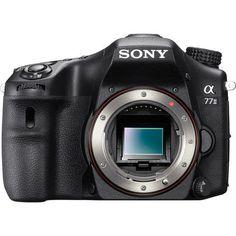 Sony a77 II ILCA-77M2 Sony a77 II ILCA-77M2 - Digital camera - SLR - 24.3 MP - body only - Wi-Fi, NFC - black - 24.3MP APS-C Exmor CMOS Sensor - BIONZ X Image Processor - Gapless On-Chip Lens Design -