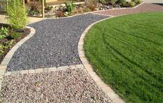 Home-Dzine - How to lay a gravel path or walkway in a garden
