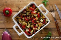 Verdure+miste+cotte+al+forno