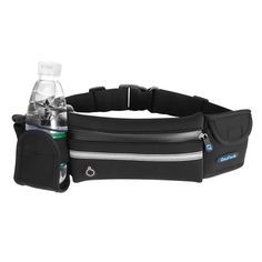Running Belt Pouch with Water Bottle Carrier for Sports Walking Hiking Workout Runner - Fanny Waist Pack Bags Pockets - Key iPhone 7 Plus 6s Holder by Cosfash. Lightweight Running Belt: Cosfash runner belt,made of waterproof washable neoprene material with special-shaped water resistant zipper,prevents ingress of water.Your belongings will stay safe and dry if you sweat a lot or run in bad weather,and you don't have to worry about the objects in the pockets get wet.And due to its…