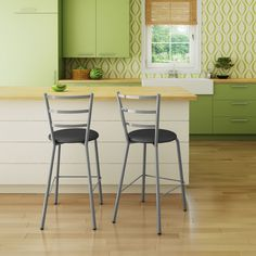 Have to have it. Amisco Sofia Counter Stool 26 in. - $128.99 @hayneedle