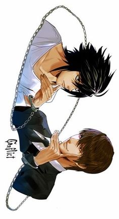 Tags: Death Note, L Lawliet, Light Yagami, Lawlight, fan art Death Note Kira, Death Note Fanart, Death Note Funny, Death Note Light, Manga Anime, Fanarts Anime, Anime Characters, Anime Art, Death Note Cosplay