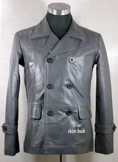 M39 German Pea Coat Grey
