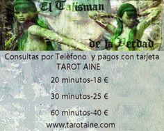 El Talisman de la Verdad: ***CONSULTAS POR TELÈFONO, SERVICIO DE TAROT, EN E...