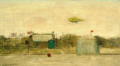 Lhoták Kamil - Krajina se vzducholodí Classic Paintings, Siena, Art, Art Background, Kunst, Performing Arts, Art Education Resources, Sanat