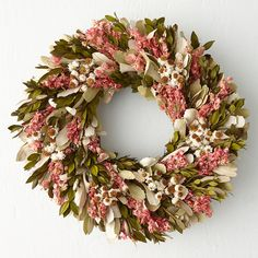 Terrain Larkspur Garden Wreath - BestProducts.com