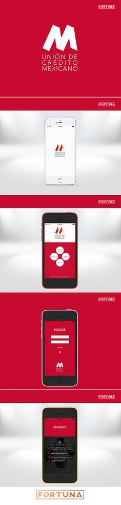 Desarrollo de una aplicación para Iphone.  Development of an application for Iphone.  By Fortuna Estudio