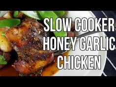 Slow Cooker Honey Garlic Chicken - Slow Cooking Perfected